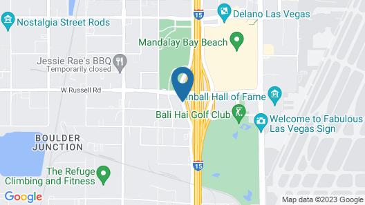 Staybridge Suites Las Vegas Map