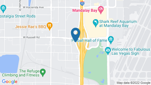 Fairfield Inn and Suites by Marriott Las Vegas South Map