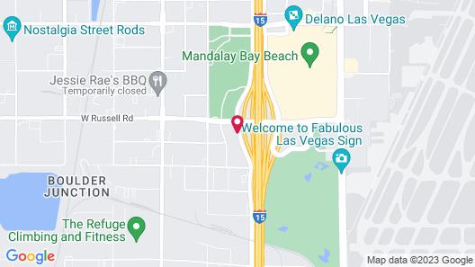 Staybridge Suites Las Vegas, an IHG Hotel Map