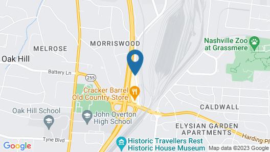 Red Roof Inn PLUS+ Nashville Fairgrounds Map