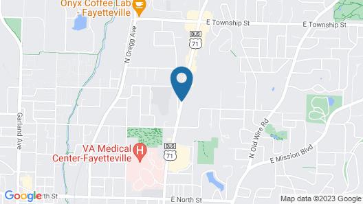 Chief Motel Map
