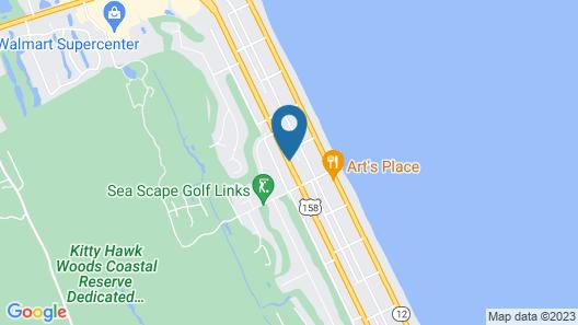 Sea Scape Beach And Golf Villas Map
