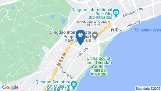 Hyatt Regency Qingdao Map