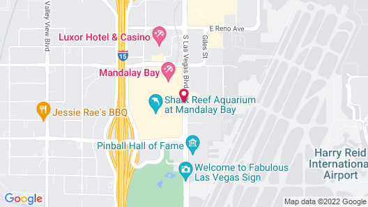 Four Seasons Hotel Las Vegas Map