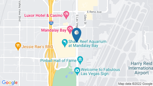 Four Seasons Hotel Las Vegas Map