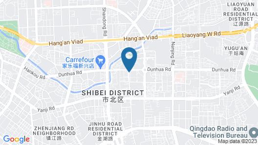 Le Meridien Qingdao Map