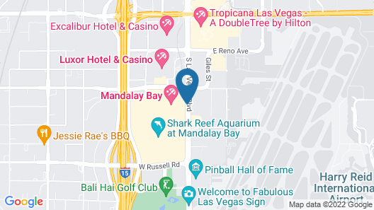 Mandalay Bay Resort And Casino Map