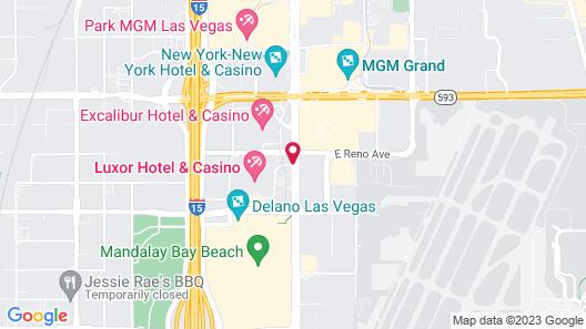 Luxor Hotel and Casino Map
