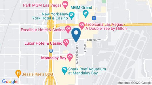 Luxor Hotel and Casino Map