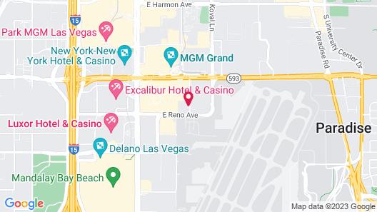 Desert Rose Resort Map