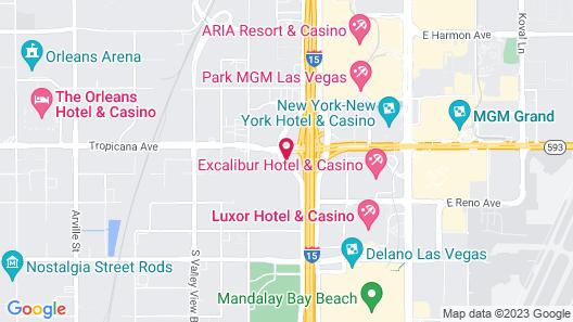Home2 Suites by Hilton Las Vegas City Center Map