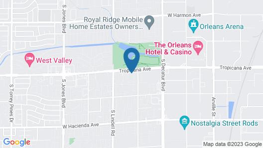 WorldMark Las Vegas - Tropicana Avenue Map