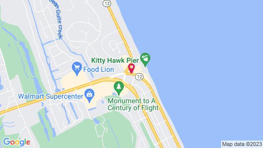 Hilton Garden Inn Outer Banks/Kitty Hawk Map
