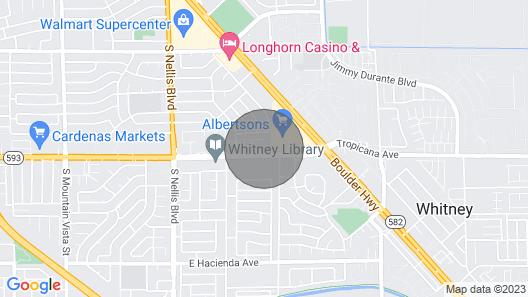 Las Vegas Hospitality Map