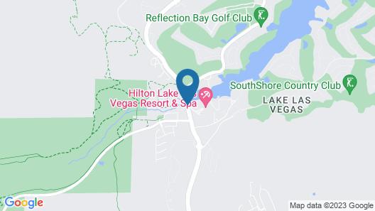 Hilton Lake Las Vegas Resort and Spa Map