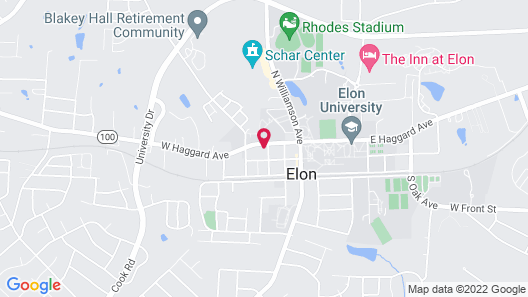 Acorn Inn Map
