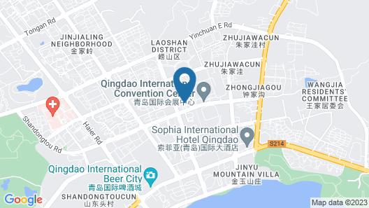 Blue Horizon Hotel Map