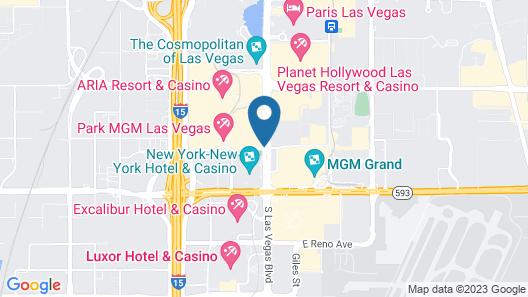 Park MGM Las Vegas Map