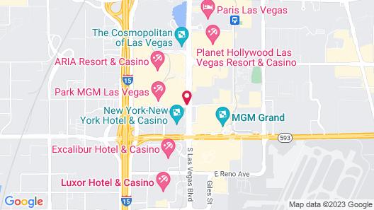 NoMad Las Vegas Map