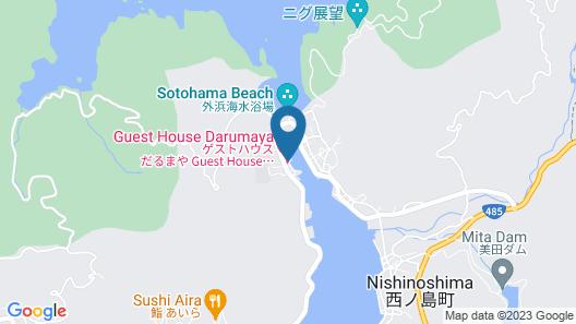 Guest House Darumaya - Hostel Map