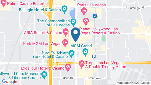 Waldorf Astoria Las Vegas Map