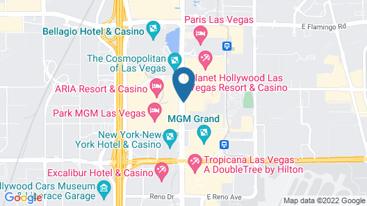 Polo Towers by Diamond Resorts Map