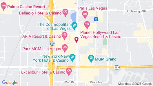 ARIA Resort & Casino Map