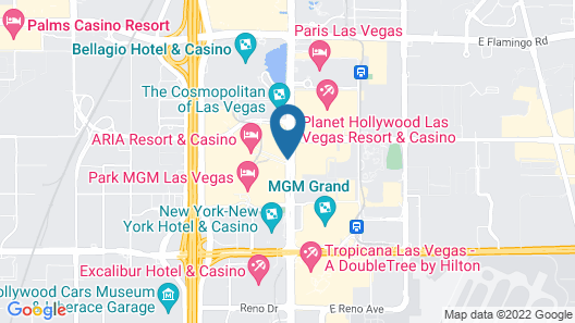 ARIA Resort & Casino Map
