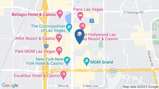 Raintree At Polo Towers, Las Vegas Map