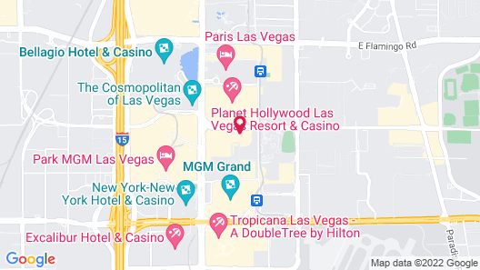 Marriott's Grand Chateau (No Resort Fee) Map