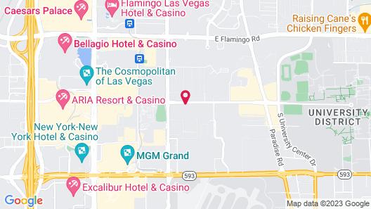 Club Wyndham Grand Desert Map