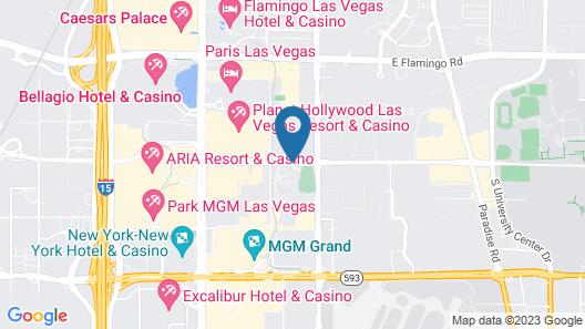 The Signature at MGM Grand Map
