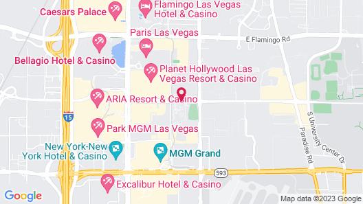 Jet Luxury Resorts @ The Signature Condo Hotel Map