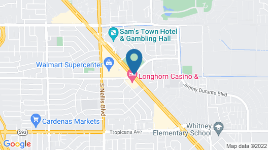 Eastside Cannery Casino & Hotel Map