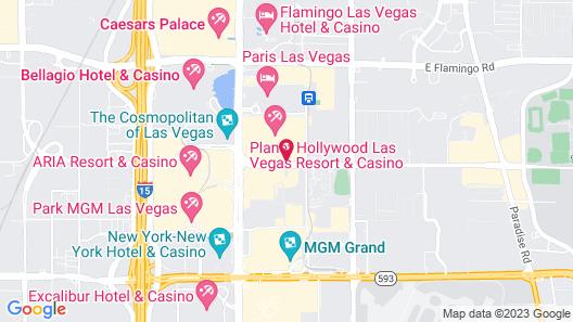 Elara by Hilton Grand Vacations - Center Strip Map