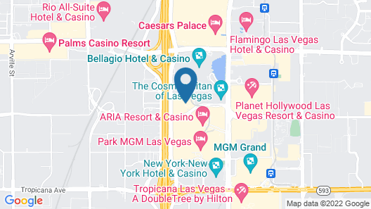 Vdara Suites by AirPads Map