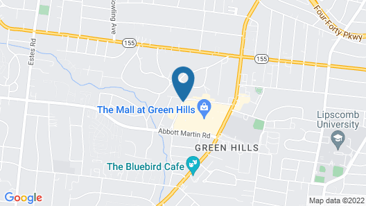 Residence Inn by Marriott Nashville Green Hills Map