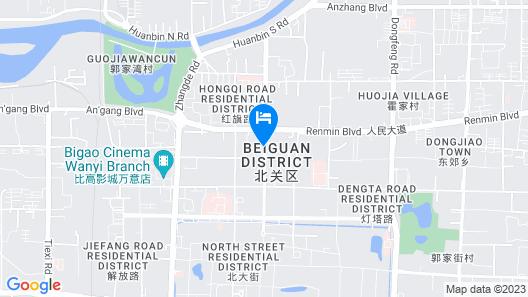 Super8 Hotel Anyang Hongqi Road Map