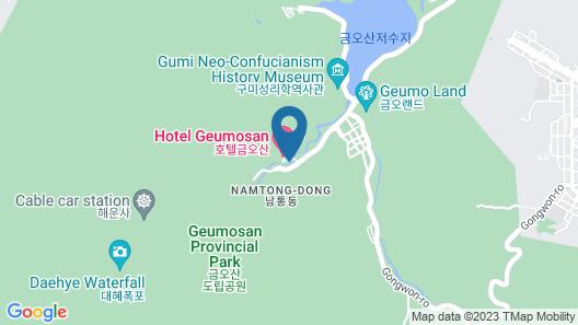 Hotel Geumosan Map