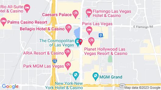 Custom Suites at the Jockey Club Map