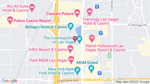 Jockey Club Suites Map