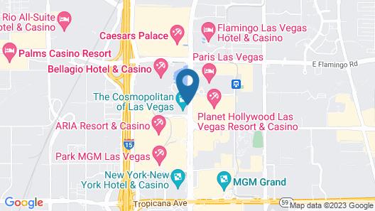 GetAways at Jockey Club Map