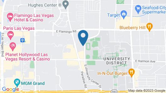 Embassy Suites by Hilton Las Vegas Map