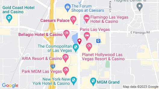 Paris Las Vegas Resort & Casino Map