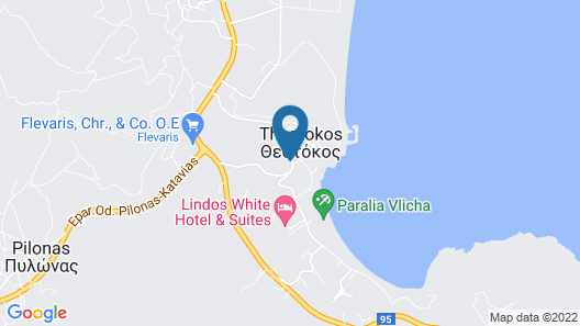 Lindos Royal-All Inclusive Map