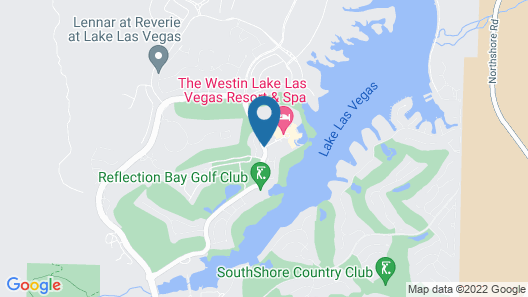 The Westin Lake Las Vegas Resort & Spa by Marriott Map