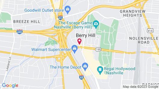 The Iris Motel Map