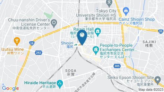 Biz Hotel Shiojiri Ekimae Map