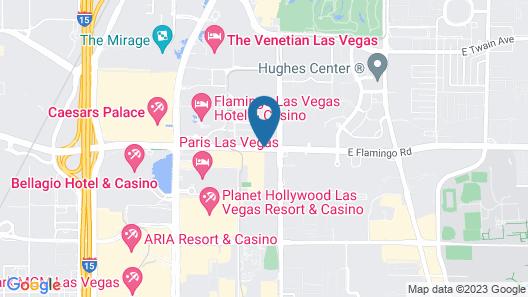 The Westin Las Vegas Hotel & Spa Map