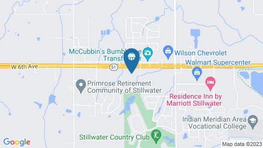 La Quinta Inn & Suites by Wyndham Stillwater-University Area Map